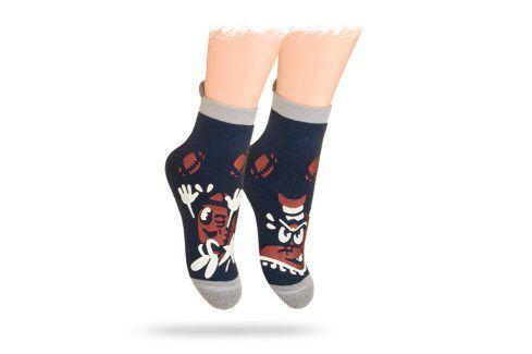 WOLA Ponožky KOPAČKA + MÍČ Velikost: 21-23 Dětské oblečení
