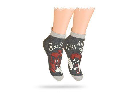 WOLA Ponožky STRAŠIDLO Velikost: 21-23 Dětské oblečení