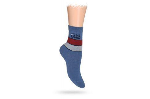 WOLA Dětské ponožky ABS vzor SPORTS Velikost: 30-32 Dětské oblečení