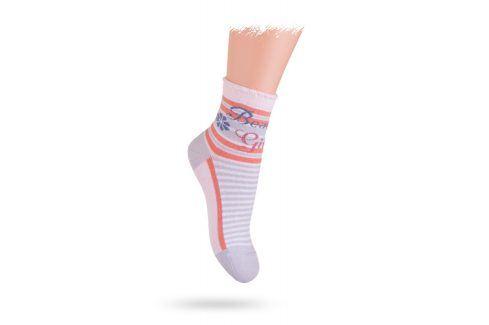 Ponožky WOLA BEAUTY GIRL Velikost: 21-23 Dětské oblečení