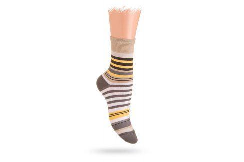 Wola ponožky PROUŽKY Velikost: 36-38 Dětské oblečení