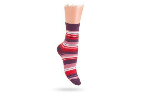 Wola vzorované ponožky PROUŽKY Velikost: 39-41 Dětské oblečení