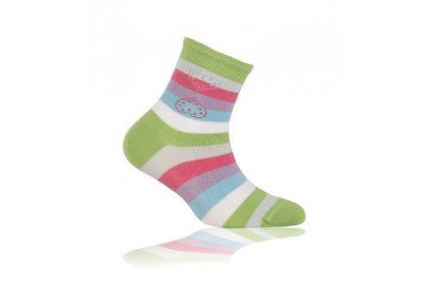 WOLA Dětské ponožky PROUŽKY Velikost: 21-23 Dětské oblečení