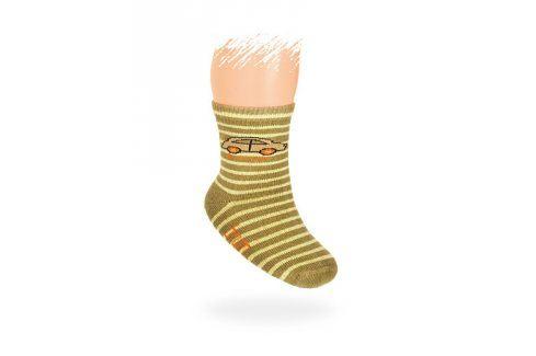 WOLA Kojenecké ponožky vzor AUTÍČKO Velikost: 12-14 Dětské oblečení