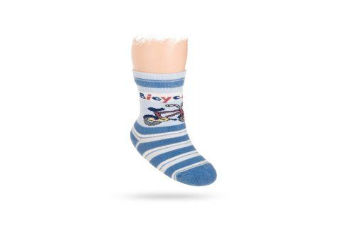 Vzorované ponožky WOLA KOLO Velikost: 12-14 Dětské oblečení