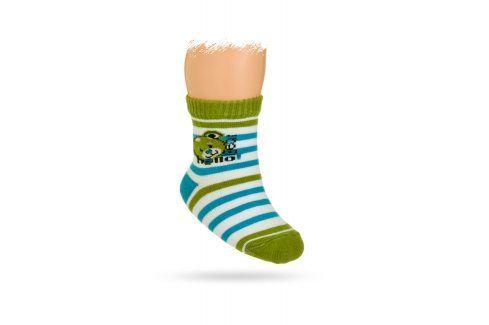 WOLA Kojenecké ponožky vzor MÉĎA Velikost: 15-17 Dětské oblečení