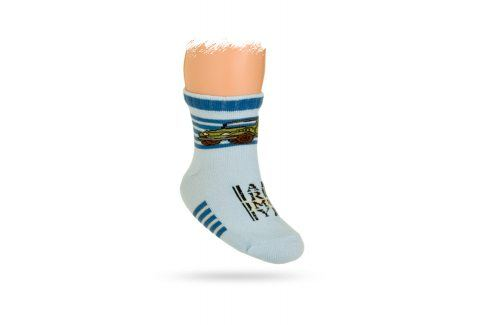 WOLA Kojenecké ponožky vzor AUTO Velikost: 15-17 Dětské oblečení