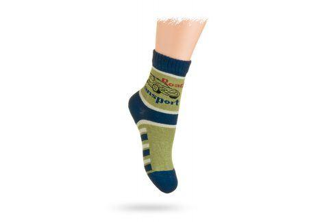 WOLA Ponožky vzor AUTO Velikost: 21-23 Dětské oblečení