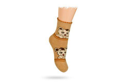 GATTA TERMO ponožky vzor MÉĎOVÉ Velikost: 21-23
