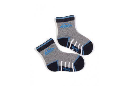 Kojenecké vzorované ponožky WOLA AUTO Velikost: 15-17 Dětské oblečení