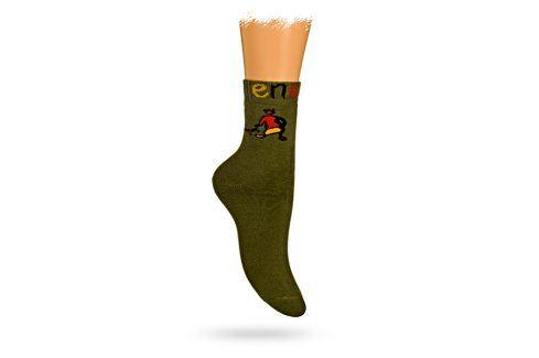 GATTA Dětské termo ponožky vzor ENERGY Velikost: 27-29 Dětské oblečení