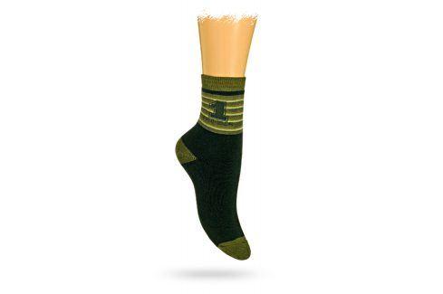 GATTA Dětské termo ponožky vzor NUMBER 1 Velikost: 27-29 Dětské oblečení
