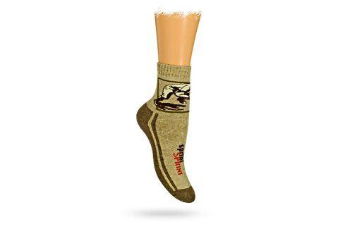 GATTA Dětské termo ponožky vzor SPRINT Velikost: 27-29 Dětské oblečení