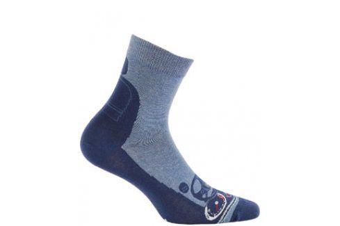 Chlapecké vzorované ponožky GATTA Velikost: 27-29 Dětské oblečení