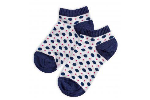 Kotníkové ponožky WOLA PUNTÍKY Velikost: 27-29 Dětské oblečení