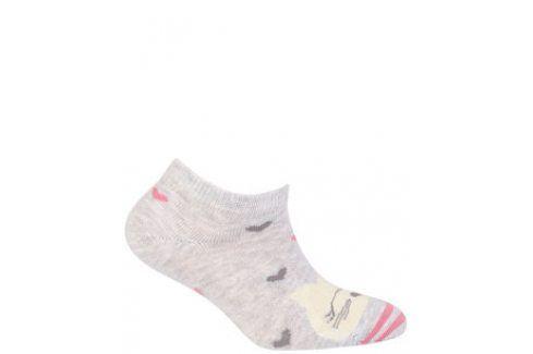 Kotníkové ponožky WOLA KOČKA Velikost: 21-23 Dětské oblečení