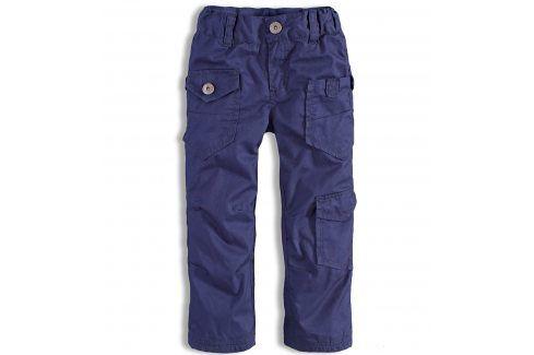 Dětské zateplené kalhoty DIRKJE modré Velikost: 80 Kojenecké kalhoty a šortky