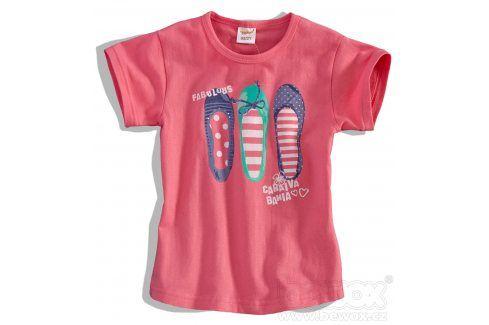 Dětské tričko Dirkje FABULOUS růžové Velikost: 92 Trička a košile