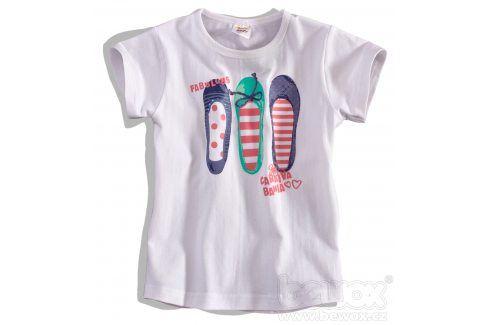 Dětské tričko Dirkje FABULOUS bílé Velikost: 92 Trička a košile