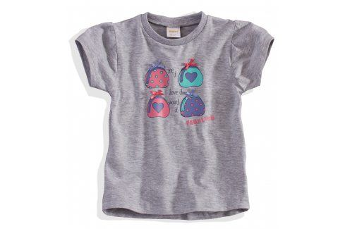 Dívčí tričko Dirkje FABULOUS šedé Velikost: 98 Trička a košile