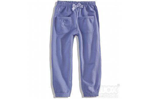 DIRKJE Kojenecké dívčí tepláky FABULOUS fialové Velikost: 80 Kojenecké kalhoty a šortky