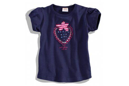 DIRKJE Dívčí tričko s krátkým rukávem Velikost: 80 Kojenecká trička a košilky