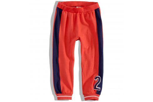 DIRKJE Kojenecké tepláky SEA CREW oranžové Velikost: 80 Kojenecké kalhoty a šortky