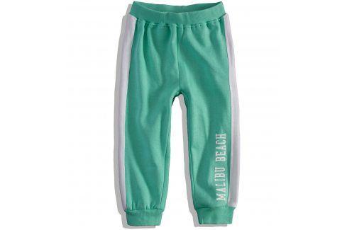 Dětské tepláky Dirkje BEACH CLUB zelené Velikost: 92 Dětské kalhoty