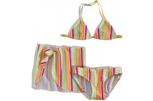 Dívčí plavky s pareem Dirkje PROUŽKY Velikost: 92 Dětské plavky