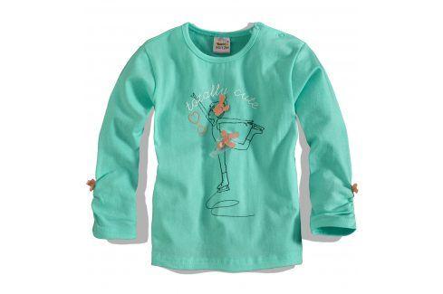 Dívčí triko dlouhý rukáv DIRKJE Velikost: 56 Kojenecká trička a košilky