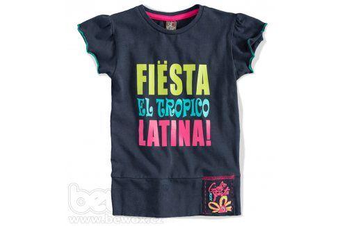 GIRLSTAR Dívčí tričko FIESTA tmavě modré Velikost: 92-98 Trička a košile