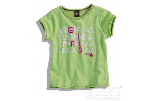 Dívčí tričko GIRLSTAR zelené Velikost: 92-98 Trička a košile