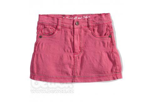 Dívčí riflová sukně GIRLSTAR růžová Velikost: 92-98 Šaty, sukně