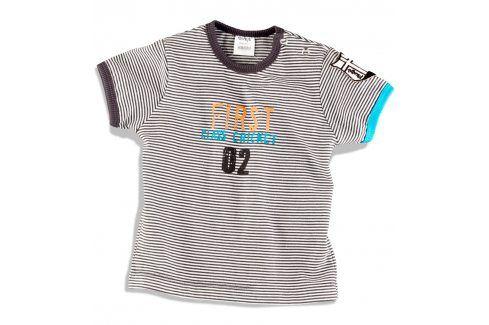 DIRKJE Tričko s nápisem FIRST CLASS Velikost: 62 Kojenecká trička a košilky
