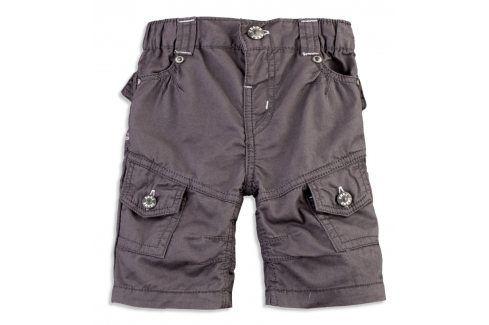 Chlapecké šortky DIRKJE CARGO tmavě šedé Velikost: 74 Kojenecké kalhoty a šortky