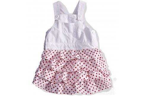 DIRKJE Dívčí sukně s laclem. Velikost: 74 Kojenecké šatičky a sukně