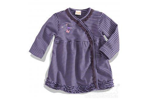 Dívčí šaty s dlouhým rukávem DIRKJE fialové Velikost: 80 Kojenecké šatičky a sukně