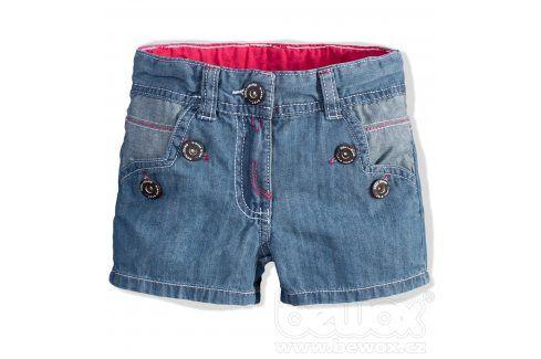 Kojenecké dívčí riflové šortky DIRKJE Velikost: 62 Kojenecké kalhoty a šortky