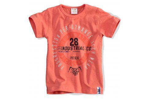 Dětské tričko DIRKJE INDUSTRIAL oranžové Velikost: 62 Kojenecká trička a košilky