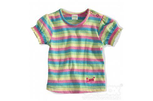 Kojenecké tričko PEBBLESTONE PROUŽKY modré Velikost: 68 Kojenecká trička a košilky