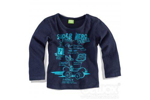 Chlapecké triko PEBBLESTONE HERO modré Velikost: 68 Kojenecká trička a košilky