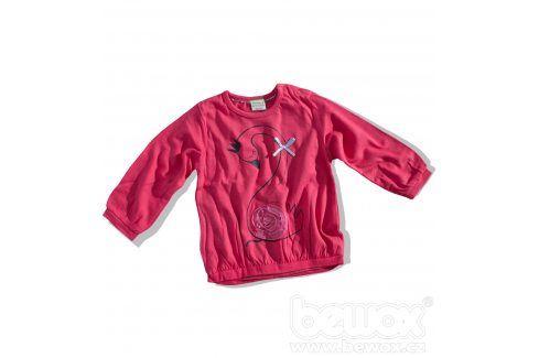 Dívčí triko s dlouhým rukávem PEBBLESTONE LABUŤ Velikost: 68