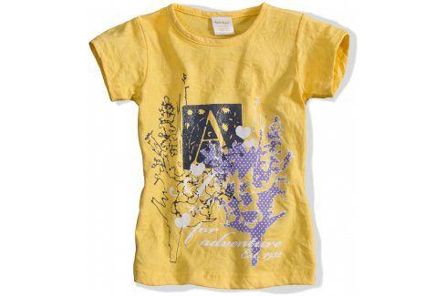 Dívčí tričko DIRKJE ADVENTURE žluté Velikost: 92 Trička a košile