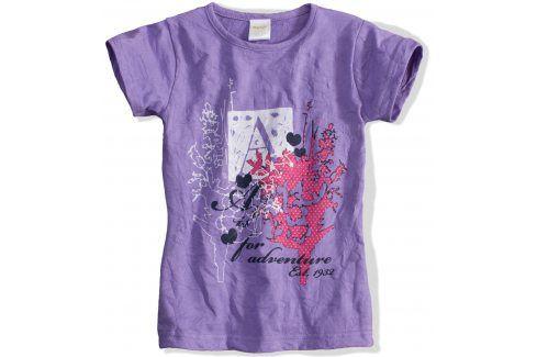 Kojenecké dívčí tričko DIRKJE fialové Velikost: 86 Kojenecká trička a košilky