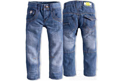 Chlapecké rifle DIRKJE ROCKER modré Velikost: 92 Dětské kalhoty