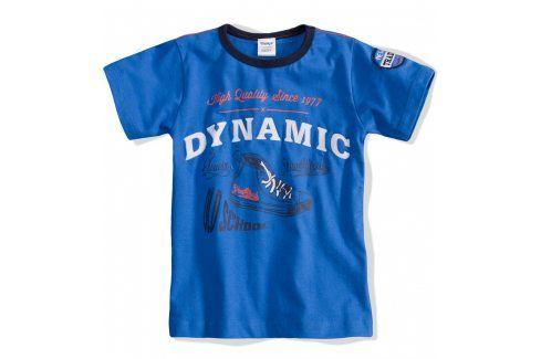 Dětské tričko DIRKJE Dynamic modré Velikost: 92 Trička a košile