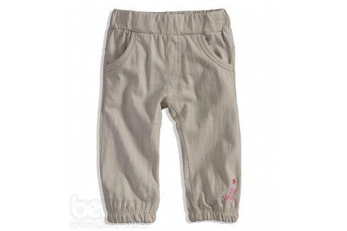 Kojenecké tepláky PEBBLESTONE béžové Velikost: 68 Kojenecké kalhoty a šortky