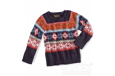 Chlapecký svetr MINOTI ARROW modrý Velikost: 98-104 Mikiny a svetry