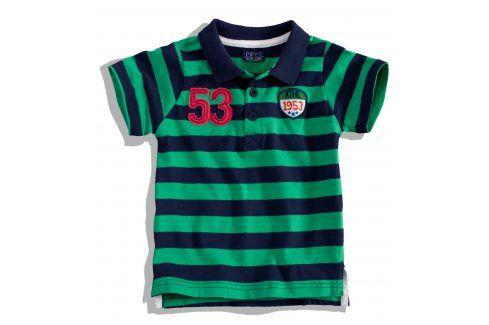 Chlapecké tričko s límečkem Minoti BITE Velikost: 80-86 Kojenecká trička a košilky