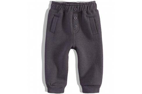 KNOT SO BAD Kojenecké tepláčky KnotSoBad šedé Velikost: 68 Kojenecké kalhoty a šortky